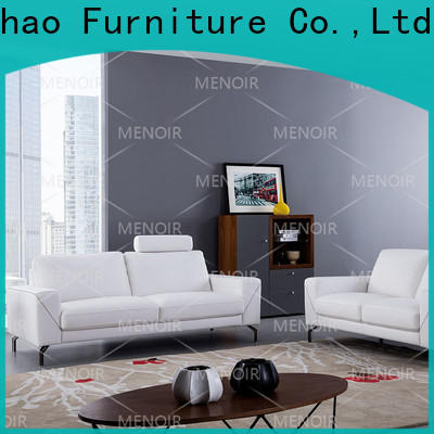 Menoir top grain leather sofa supplier bulk buy