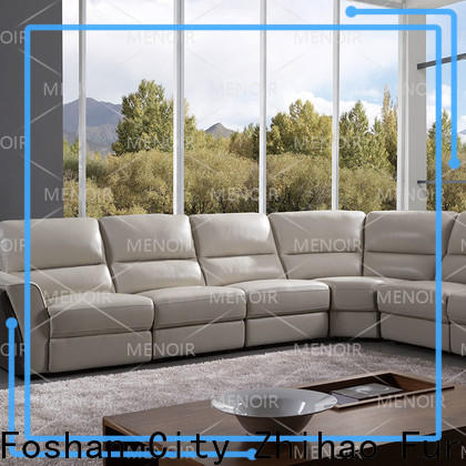 popular curved leather sofa recliner wholesale bulk production