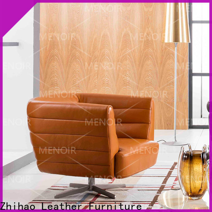 Menoir professional modern leather accent chairs wholesale bulk buy
