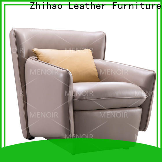 Menoir popular leather club chair manufacturer on sale