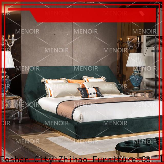 Menoir excellent leather platform bed directly sale for sale