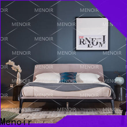 Menoir factory price leather king size bed inquire now on sale