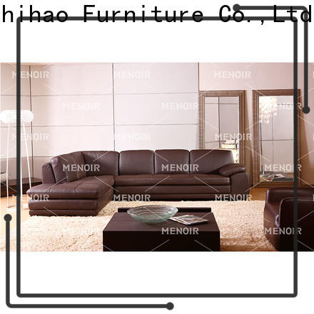 low-cost sectional sofas with recliners factory direct supply for household