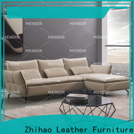 Menoir best value saddle leather recliner factory for home