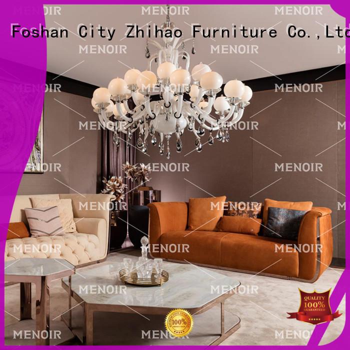 Menoir contemporary leather sofa company for sale