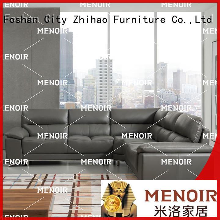 Menoir leather sleeper sofa supplier on sale