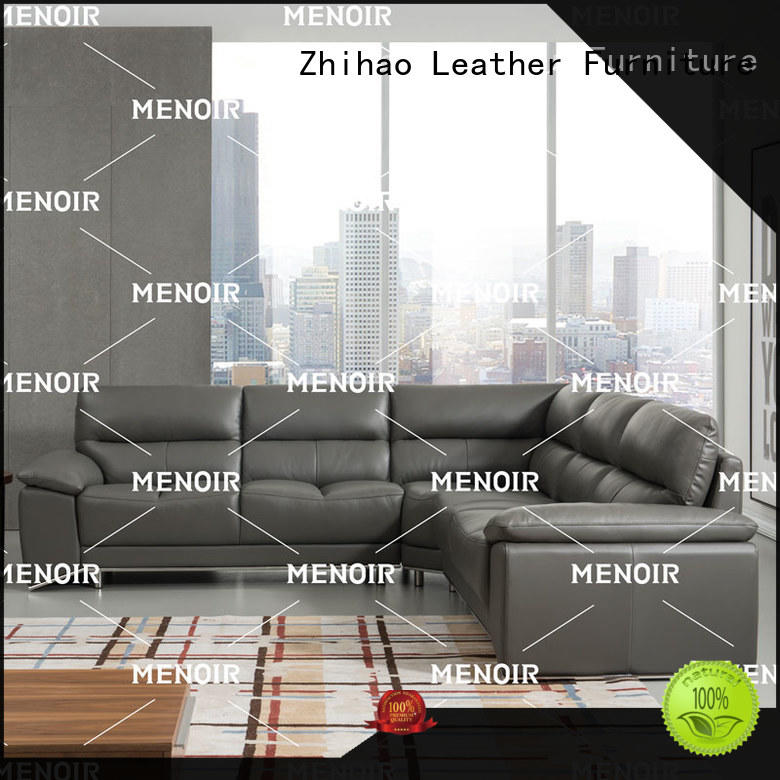 Menoir excellent contemporary leather sofa wholesale for hotel