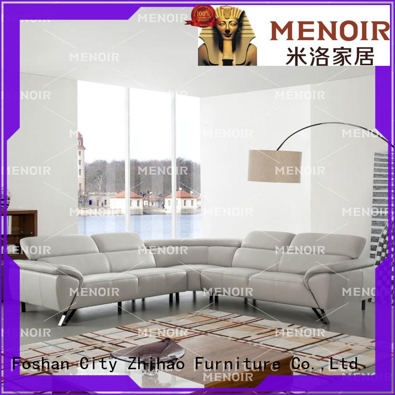 Menoir popular leather sofa and recliner set company for bedroom