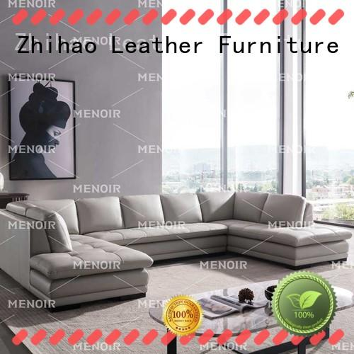 popular leather sleeper sofa from China for household