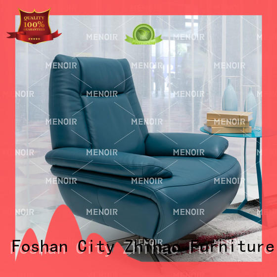 Menoir sturdy oversized leather chair factory direct supply for sale