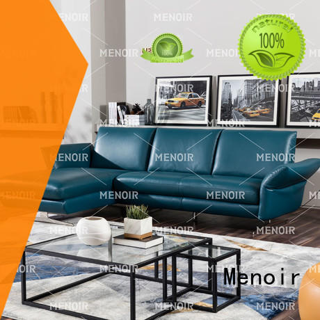 Menoir factory price cheap leather sofas series on sale